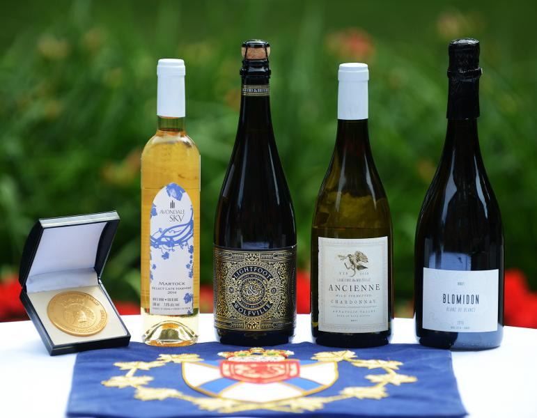 Government of nova scotia novascotia the four wines that received the 2018 lieutenant governors award for excellence in nova scotia wines reheart Image collections