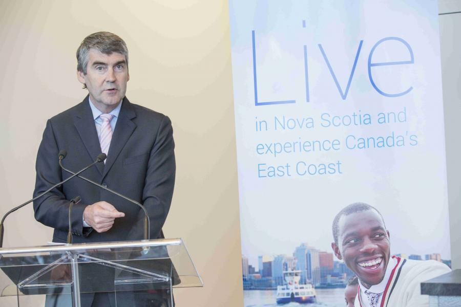 Premier Stephen McNeil says the launch of the Entrepreneur Stream and the International Graduate Entrepreneur Stream will attract, and help retain, entrepreneurs who create new jobs here in Nova Scotia.
