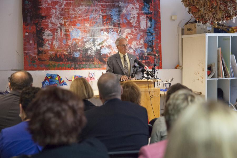 Health and Wellness Minister Leo Glavine launched Towards Understanding: A Dementia Strategy for Nova Scotia at the Art Gallery of Nova Scotia in Halifax.